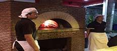 Real pizza oven